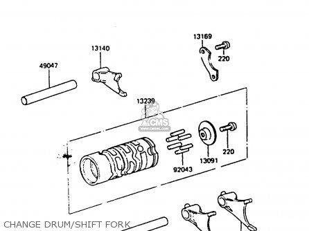 Kawasaki KX80-F3 1985 parts lists and schematics on