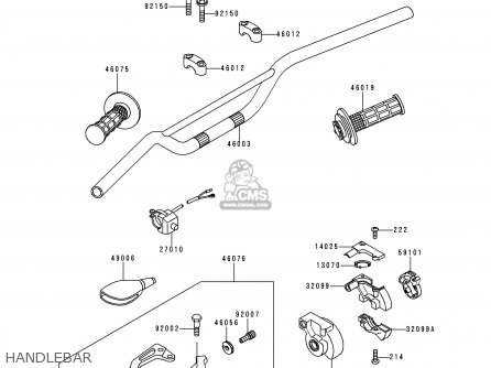 Kawasaki Kx80 R6 1996 Europe As Parts Lists And Schematics