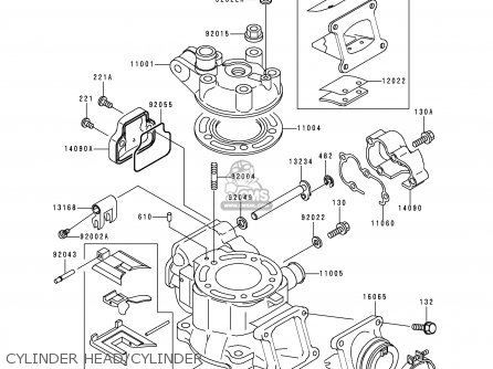 Kawasaki Kx80 X3 Kx80ii 2000 Europe As Parts Lists And Schematics
