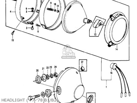 Wiring Diagrams For Kz1000p