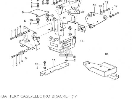 1978 Kawasaki Wiring Diagram