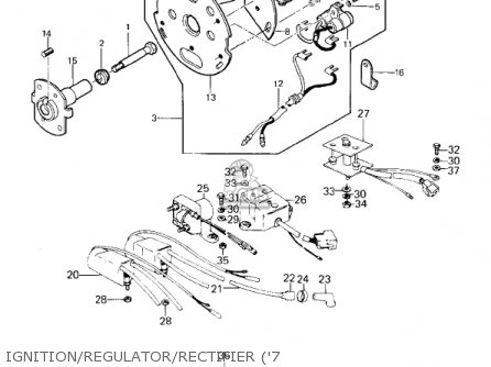 Kawasaki Kz1000d1 Z1r 1978 Canada Parts Lists And Schematics