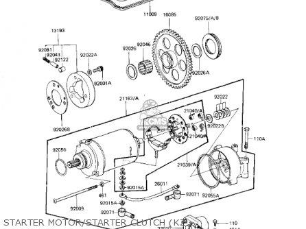 Kawasaki Z1000 A1 Wiring Diagram