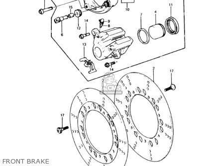 1978 honda cb750f electrical wiring diagram