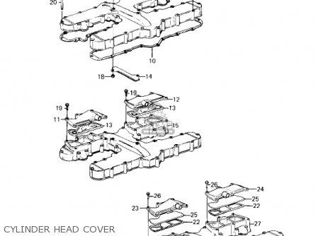 Kawasaki Kz1300a3 1981 Usa Canada Cylinder Head Cover