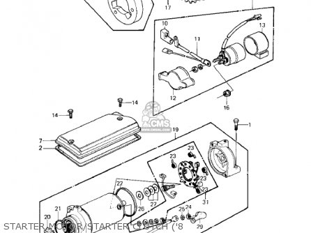 77 Kz650 Wiring Diagram Schematic