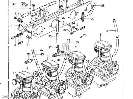 Kawasaki Kz650b2 1978 Usa Canada Mph Kph Parts Lists And