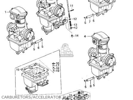 Kawasaki Kz650b3 1979 Usa Canada   Mph Kph Carburetors accelerator Pump kz
