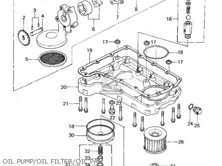 Kawasaki Kz650b3 1979 Usa Canada   Mph Kph Oil Pump oil Filter oil Pan