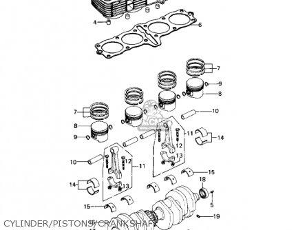 cylinder/pistons/crankshaft