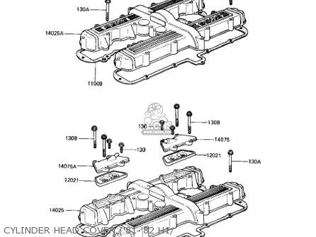Kawasaki Kz650h3 Csr 1983 Usa Canada Cylinder Head Cover 81-82 H1