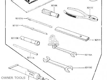 Kawasaki Kz750k1 1983 Usa Canada   Ltd Belt Drive Owner Tools