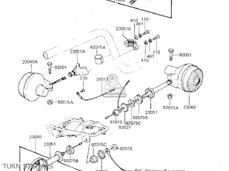 Kawasaki Kz750k1 1983 Usa Canada   Ltd Belt Drive Turn Signals