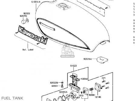 Kawasaki Kz750m1 Csr Twin 1982 Usa Mph Parts Lists And Schematics