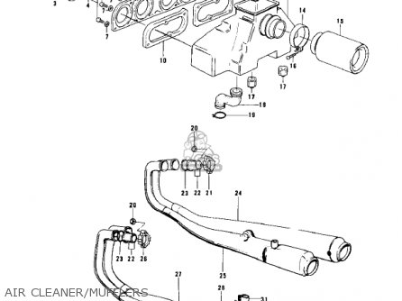 Kawasaki Kz900a4 1976 Usa Canada Parts Lists And Schematics