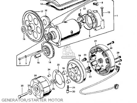 Kawasaki Kz900a4 1976 Usa Canada Parts Lists And Schematics