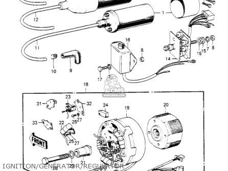 Kawasaki S2 MACH II 1972 USA parts lists and schematics on kawasaki bayou 220 wiring, kawasaki carburetor diagram, john deere electrical diagrams, onan parts diagrams, kawasaki 110 atv, mercury outboard 115 hp diagrams, kawasaki trains,