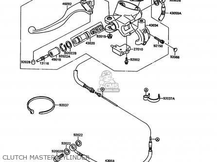 for harley springer front end parts exploded diagram
