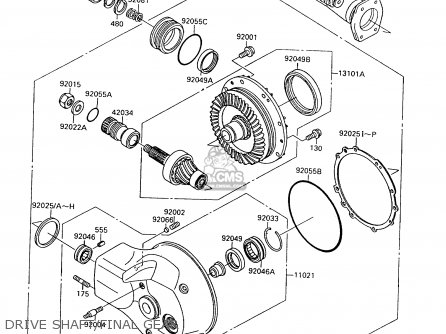 1995 Kawasaki 1500 Engine Diagram