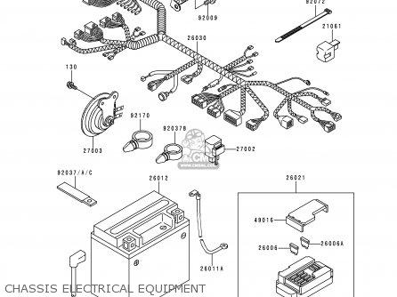 Kawasaki Vn400c4 Vulcan Classic 1994 Greece Chassis Electrical Equipment