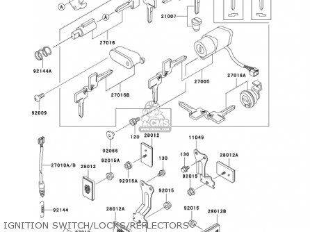 kawasaki vulcan 800 turn signal light wiring diagram kawasaki vn800a7 vulcan 800 2001 usa california parts list ... #7