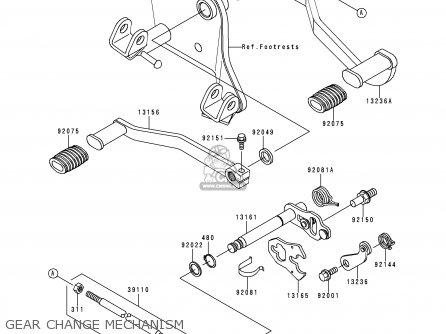 1997 Kawasaki Lakota 300 Wiring Diagram