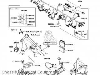 Kawasaki VN900CBFA VULCAN 900 CUSTOM 2011 USA parts lists ... on