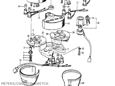 Kawasaki Z1 1973 Usa Canada Parts Lists And Schematics