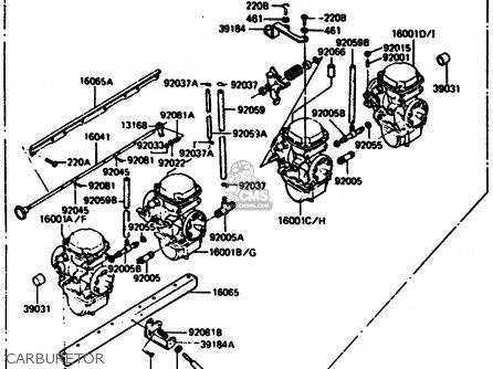 Kawasaki Z1000r2 1983 Europe Uk It Nr Sd St Carburetor