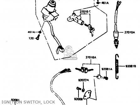 Kawasaki Z1000r2 1983 Europe Uk It Nr Sd St Ignition Switch  Lock