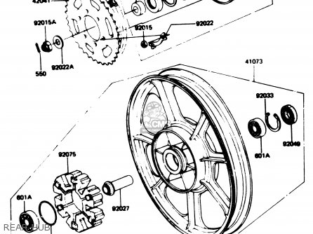 1980 Suzuki Gs 1100 Wiring Diagram