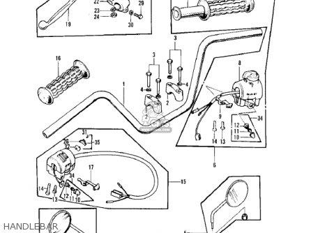 1975 honda cb750 wiring diagram 1975 kawasaki f7 wiring