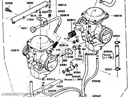 Kawasaki Z440d6 1984 Europe Uk Sd Wg Carburetor a