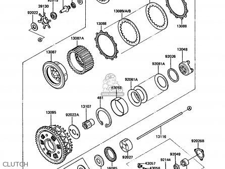 Kawasaki Gtr Parts List
