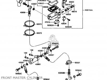 kawasaki zx1100c4 zx11 1993 usa california canada parts