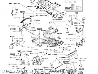 CHASSIS ELECTRICAL EQUIPMENT - ZX1400A7F NINJA ZX14 2007 USA CALIFORNIA CANADA