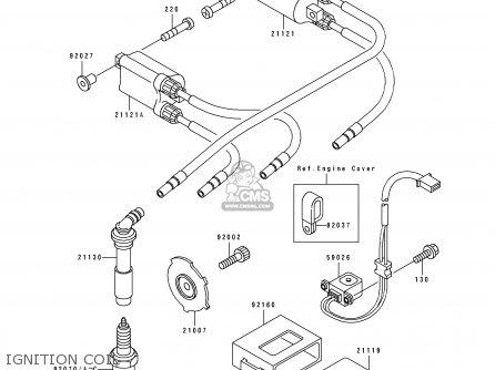 kawasaki zx400h2 zxr400 1990 europe fr ar it parts lists and schematics. Black Bedroom Furniture Sets. Home Design Ideas
