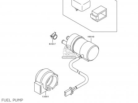 ZX400L3 ZXR 400 1993 Replacement Fuel Filter