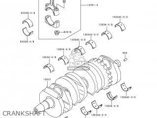 Kawasaki Zx600e4 Zzr600 1996 Europe Uk Fr Nl Fg Sp Crankshaft