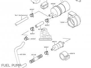 Kawasaki Zx600e4 Zzr600 1996 Europe Uk Fr Nl Fg Sp Fuel Pump