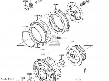 Kawasaki Zx600f1 Ninja Zx6r 1995 Usa California Canada Parts Lists And Schematics