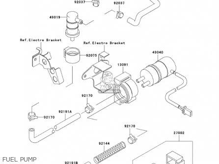 ZX750P7 Fuel Pump for 2002 Kawasaki ZX-7R