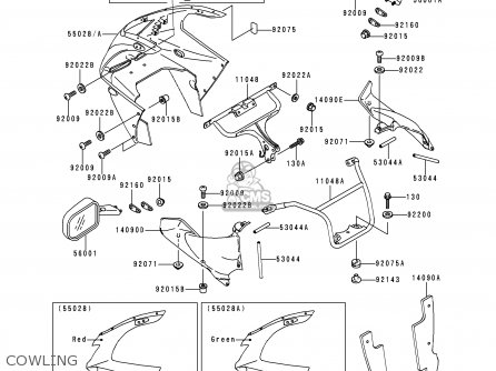 zx9r red wiring diagram database 2004 ZX9R zx9r red wiring diagram database kawasaki zx900b4 ninja zx9r 1997 usa california canada parts lists zx9r