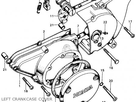 Honda Cb500 K1 500 Four 1972 Parts