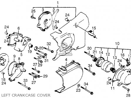 1984 Honda Vf500c Magna Engine Diagram