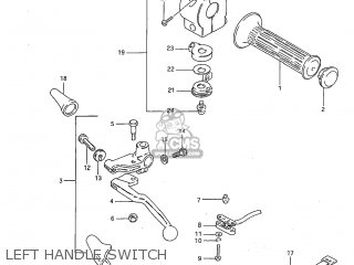 Switch Assembly, Handle, Left photo