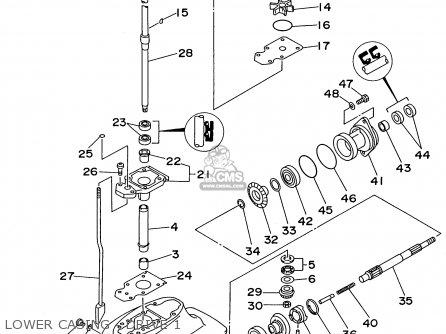 устройство редуктора лодочного мотора сузуки 15