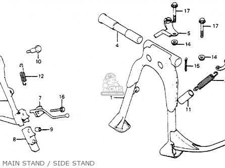 (50542MZ2000) SPRING,SIDE STAND