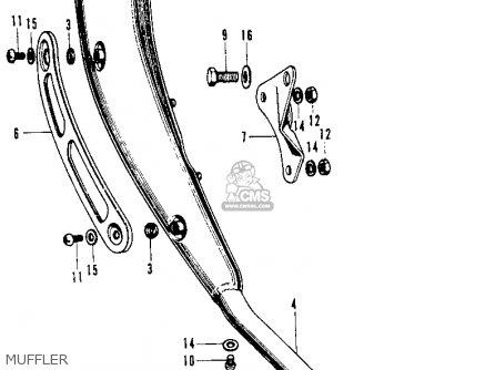 (183A0-118-671) MUFFLER,ASSY.