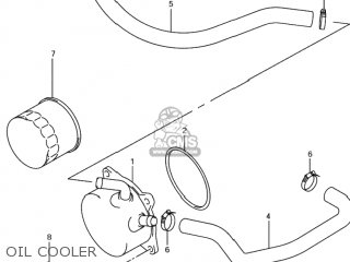 Hose, Oil Cooler Water Inlet photo